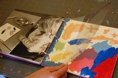 DIY - Kid's art portfolio
