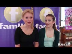 Alexandra Beaton & Brittany Raymond talk about The Next Step Step Tv, Family Channel, Family Show, The Next Step, Daughter Love, Best Shows Ever, Brittany, Favorite Tv Shows, Famous People