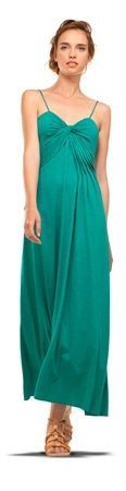 JERSEY MAXI DRESS = a perfect Spring Essential #emerald #pantonecoloroftheyear
