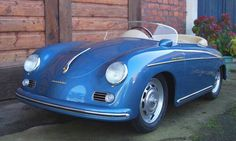 This miniature Porsche 356 Speedster isn't cheap, but we'd sure be jealous of whatever kid on the block was lucky enough to have the keys.   Photo by Autosport Designs Originals.