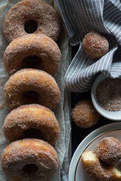 Cinnamon Sugar Donuts   Now, Forager   Teresa Floyd Photography