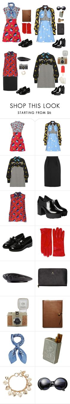 """""""Sin título #35"""" by fria-arena ❤ liked on Polyvore featuring Miu Miu, Monki, Gucci, Scotch & Soda, Lomography, Coach, Manipuri, Été Swim, Forever 21 and Chanel"""
