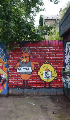 #vegan #streetart #grafitti