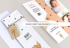 Faire-part Naissance Fille