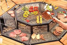 JAG Grills: 3-in-1 BBQ Grill, Table, & FirePit
