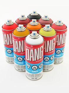 DANG Diamond Packs - INFERNO PACK (9 Cans) Graffiti Spray Paint, Spray Paint Cans, Chalk Markers, Shades Of Purple, Packing, Diamond, Search, Art Drawings, Random