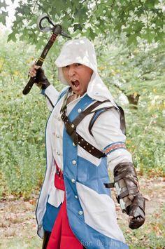 Connor (Nox D Martinez)  Assassins Creed III  Ron Gejon photography