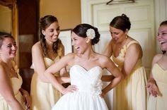 Rustic Chic Pink, Yellow & Grey wedding- Some cool reception ideas Kays! Wedding Tips, Diy Wedding, Wedding Gowns, Wedding Photos, Dream Wedding, Wedding Blog, Wedding Stuff, Yellow Grey Weddings, Gray Weddings