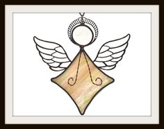 Stained Glass Angel by jpglass on Etsy