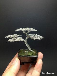 Mame Upright wire bonsai tree by Ken To 9505131 by KenToArt on deviantART