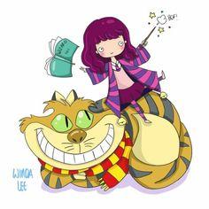 Hermione x Chesire Cat
