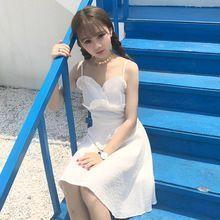 Mihoshop Ulzzang Korean Korea Women Fashion Clothing 2017 new summer dress lace Preppy Sweet Chiffon //FREE Shipping Worldwide //