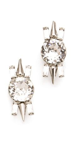 Fallon Jewelry Round Cut Stud Earrings