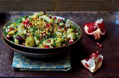 While salad is traditionally a warm-weather meal, cozy up to seasonal salads filled with nutritious veggies like butternut squash, Brussels sprouts, kale and beets, and whole, protein-rich grains like quinoa and freekah.