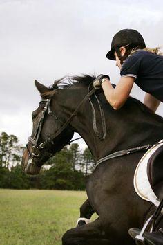 Pony Club would kill me!!! Short sleeves?!?
