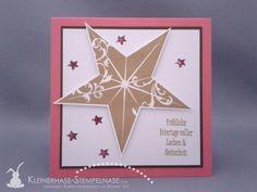 Stampin Up Immergrün Weihnachtsfest Christmas Star 01