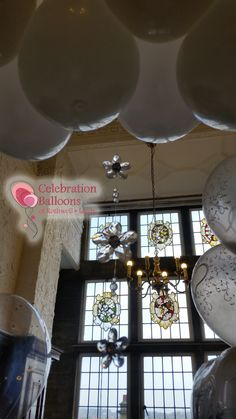 Wedding balloons from www.balloonsleeds.com Balloon Pictures, Celebration Balloons, Wedding Balloons, Wakefield, The Balloon, Leeds, Ceiling Lights, Home Decor, Decoration Home