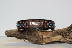 CUSTOM Leather Dog Collar // Name Plate and by JandBCustomLeather, $60.00