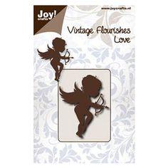 Die Découpe Joy Crafts Scrapbooking Motif Dessin Amour Cupidon Cœur Flèche