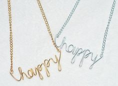 Shop for jewelry on Etsy, the place to express your creativity through the buying and selling of handmade and vintage goods. Custom Jewelry, Handmade Jewelry, Arrow Necklace, Gold Necklace, Vintage Diy, Personalized Necklace, Buy 1, Jewelry Necklaces, Silver