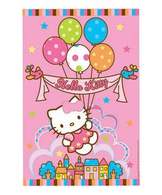Playing games at a birthday party is a great way to get all of the guests involved—even the shy ones. This fun Hello Kitty Party Game is a unique take on pin-the-tail, except kids will be pinning Hello Kitty's bow to her head.