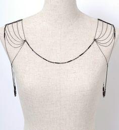 Art Deco Ziegfeld Shoulder Chain                                                                                                                                                                                 More