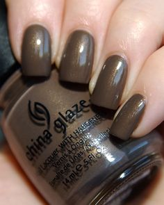 China Glaze, Ingrid....I'm wearing this kind now! ;)
