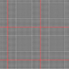Glen Plaid is short for Glenurquhart, a region in Scotland. Also known as Prince of Wales check, it is a houndstooth woven with various sized bands, so...