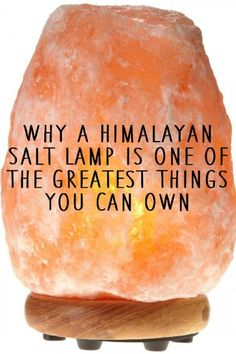 Perhaps you've heard of Himalayan salt lamps or perhaps you even already have one. The Himalayan salt lamp is becoming a very popular addition to people's living areas. Body detoxification, relaxation and respiratory support...