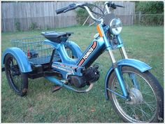 Tricycle Bike, Adult Tricycle, Trike Motorcycle, Gas Powered Scooters, Motor Scooters, Drift Trike Motorized, Bike Cart, Custom Moped, Electric Trike