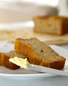 really truly delicious gluten free banana bread