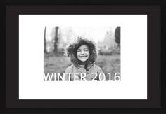 Standout Type Gallery Framed Print, Black, Contemporary, Black, Black, Single piece, 20 x 30 inches, White