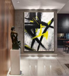 Large Canvas Art Original Large Abstract Oil Painting Abstract Acrylic Painting On Canvas Heavy Texture Painting Gray Painting Modern Art Star Painting, Oil Painting Abstract, Large Canvas Art, Cool Paintings, Texture Art, Acrylic Art, Oeuvre D'art, Contemporary Art, Art Prints