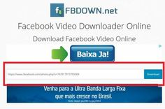 Como baixar ou salvar vídeos do Facebook: http://www.marciacarioni.info/2014/08/como-salvar-videos-do-facebook.html