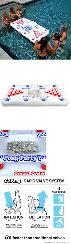 Floats and Rafts 181055: Inflatable Beer Pong Table Swimming Pool Toy Float Drinking Game Party Lounge -> BUY IT NOW ONLY: $58.99 on eBay!