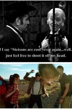 Only Doctor Who would keep a joke going for 50 years.