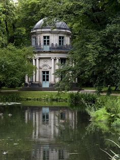 Architectural Folly at Pillnitz in Dresden, Germany