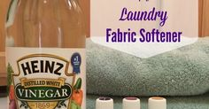 If you're wanting a cheaper more natural alternative to the fabric softeners you find in the store this natural laundry fabric softener recipe is for you.