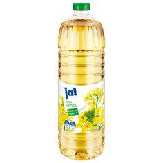 """11/2020 Ölen sind 11 """"sehr gut"""" oder """"gut"""", heißt es in der Zeitschrift """"Öko-Test"""" Enttäuschend: In vielen Rapsölen wurden Pestizide, Schadstoffe und Weichmacher gefunden, allerdings nur in geringen Mengen gefunden. Die Tester nahmen sowohl raffinierte als auch kalt gepresste Öle unter die Lupe. Sieger bei den raffinierten Produkten war mit das günstigste von """"Ja! Reines Rapsöl"""" (0,96 Euro pro Liter) Lupe, Gold Kitchen, Kakao, Cleaning Supplies, Bottle, Queen, Shelf Life, Fruit And Veg, Food Items"""