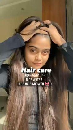 Homemade Hair Treatments, Diy Hair Treatment, Hair Tips Video, Hair Videos, Long Hair Tips, Natural Hair Care, Natural Hair Styles, Long Hair Styles, Natural Skin