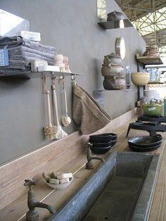 VT-Wonen-Outdoor-Kitchen. This sink is the best idea