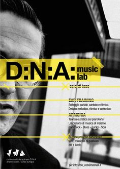 DNA Music Lab Flyers 2014 on Behance