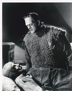 Boris Karloff and Bela Lugosi, the Son of Frankenstein (1939)
