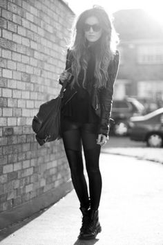 It's all about the black #black #fashion