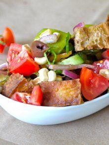Tomato Bread Salad | Weelicious