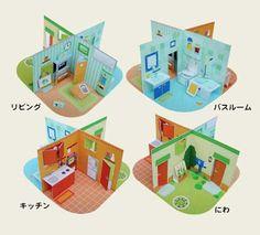house papercrafts - Hľadať Googlom