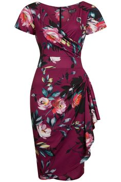 Make a statement this season in the Poppy Perfection Elsie Dress! This brand new addition to the...