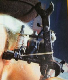 0 Tattoo Equipment, Tattoo Machine, Master Chief, Tattoos, Fictional Characters, Art, Log Projects, Billboard, Art Background