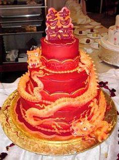 Chinese wedding cake! Keywords: #weddings #jevelweddingplanning Follow Us: www.jevelweddingplanning.com  www.facebook.com/jevelweddingplanning/