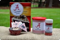 Dixie Delights: Alabama Themed Cupcake Free Printables